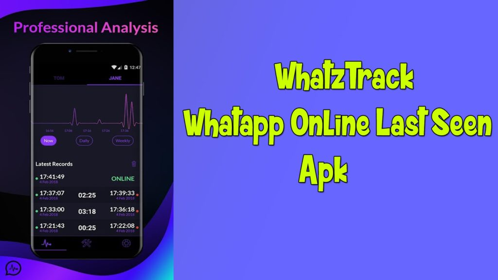 Whatztracker For Whatsapp Online Last Seen – AV MEDIA